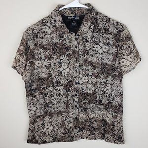 Style & Co. | Printed Button Down